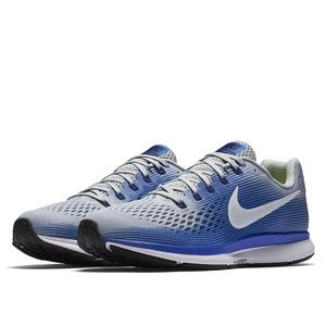 NIKE AIR ZOOM Pegasus 34 Wolf Grey Blue 11.5 US